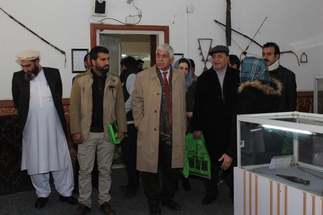 نمایشگاه آثار موزیم علمی تحقیقاتی اتنوگرافی