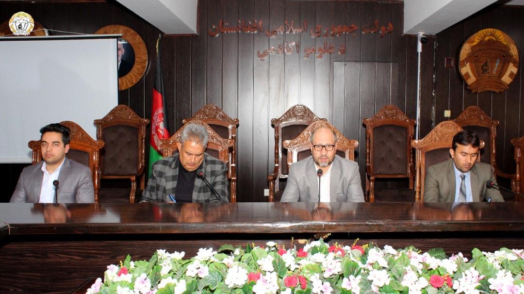 جلسه با پرسونل اداری اکادمی علوم برگزار گردید